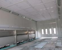 高溫烤漆房
